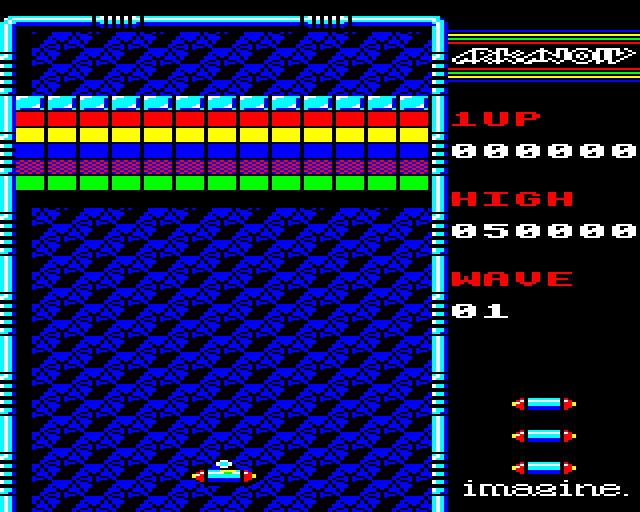 gameimg/screenshots/Arkanoid-Imagine.png